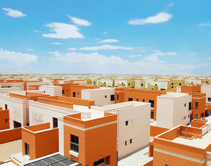 Emarati Housing Project, Al Ain.